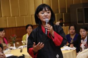 Ma. Phuntshok Chhoden Tshering မွ ဘူတန္၏ အမ်ိဳးသမီးအခန္းက႑ကို မွ်ေ၀ေနပံု